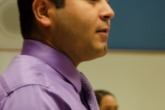 Instructor Justin Javier Enríquez oversees Tucson High's Mariachi Rayos del Sol.