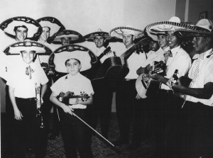 One of the first generations of Los Changuitos Feos.