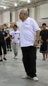 Maestro Rafael Zamarripa works with TIMC dance students