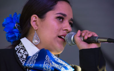 Victoria Arias at the Tucson International Mariachi Conference 2017
